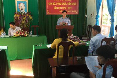 Đại hội công nhân viên chức năm học 2018 – 2019  Trường THPT Trần Quang Khải